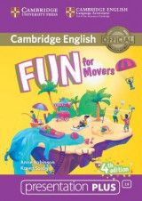 Omslag - Fun for Movers Presentation Plus DVD-ROM