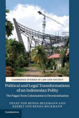Omslag - Political and Legal Transformations of an Indonesian Polity