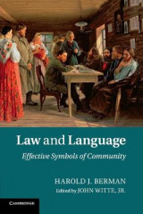 Omslag - Law and Language