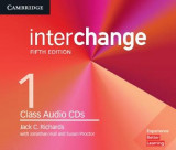 Omslag - Interchange Level 1 Class Audio CDs