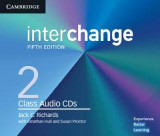Omslag - Interchange Level 2 Class Audio CDs