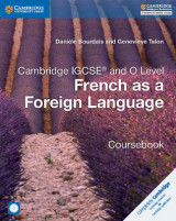 Omslag - Cambridge IGCSE (R) and O Level French as a Foreign Language Coursebook with Audio CDs (2)