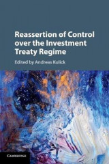 Omslag - Reassertion of Control over the Investment Treaty Regime