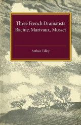 Omslag - Three French Dramatists