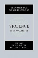 Omslag - The Cambridge World History of Violence 4 Volume Hardback Set