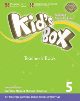 Omslag - Kid's Box Level 5 Teacher's Book American English
