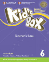 Omslag - Kid's Box Level 6 Teacher's Book American English