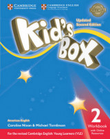 Omslag - Kid's Box Level 2 Workbook with Online Resources American English