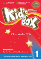 Omslag - Kid's Box Level 1 Class Audio CDs (4) American English