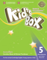 Omslag - Kid's Box Level 5 Workbook with Online Resources American English