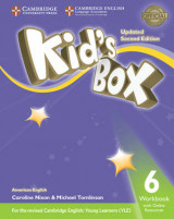 Omslag - Kid's Box Level 6 Workbook with Online Resources American English