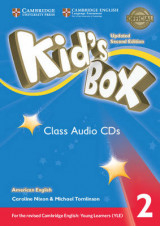 Omslag - Kid's Box Level 2 Class Audio CDs (4) American English