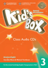 Omslag - Kid's Box Level 3 Class Audio CDs (3) American English