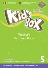 Omslag - Kid's Box Level 5 Teacher's Resource Book with Online Audio American English