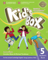 Omslag - Kid's Box Level 5 Student's Book American English