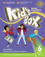 Omslag - Kid's Box Level 6 Student's Book American English