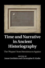 Omslag - Time and Narrative in Ancient Historiography