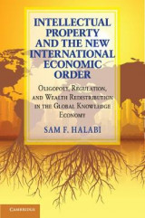 Omslag - Intellectual Property and the New International Economic Order