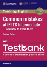 Omslag - Common Mistakes at IELTS Intermediate Paperback with IELTS Academic Testbank