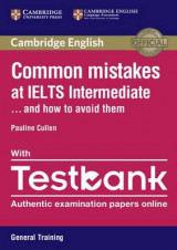 Omslag - Common Mistakes at IELTS Intermediate Paperback with IELTS General Training Testbank