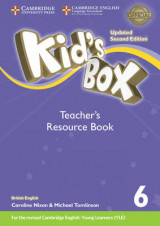 Omslag - Kid's Box Level 6 Teacher's Resource Book with Online Audio British English