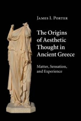 Omslag - The Origins of Aesthetic Thought in Ancient Greece