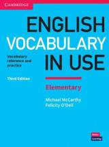 Omslag - English Vocabulary in Use Elementary Book with Answers