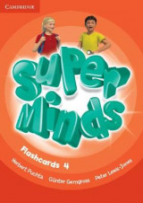 Omslag - Super Minds Level 4 Flashcards (Pack of 89)