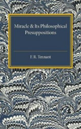 Omslag - Miracle and its Philosophical Presuppositions