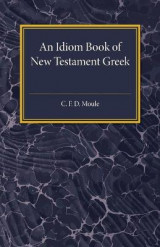 Omslag - An Idiom Book of New Testament Greek