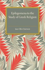 Omslag - Epilegomena to the Study of Greek Religion