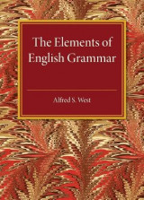 Omslag - The Elements of English Grammar