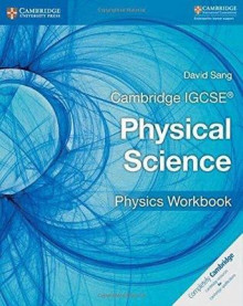 Cambridge IGCSE Physical Science Physics Workbook av David Sang (Heftet)