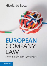 Omslag - European Company Law