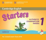 Omslag - Cambridge English Starters 1 for Revised Exam from 2018