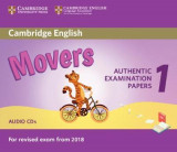 Omslag - Cambridge English Movers 1 for Revised Exam from 2018 Audio CDs (2)