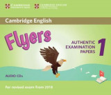 Omslag - Cambridge English Flyers 1 for Revised Exam from 2018 Audio CDs (2)