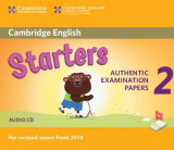 Omslag - Cambridge English Young Learners 2 for Revised Exam from 2018 Starters Audio CD