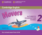 Omslag - Cambridge English Young Learners 2 for Revised Exam from 2018 Movers Audio CDs