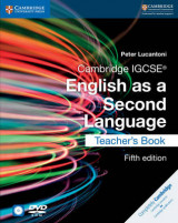 Omslag - Cambridge IGCSE English as a Second Language Teacher's Book with Audio CDs and DVD