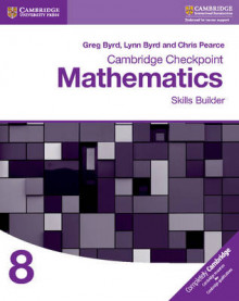 Cambridge Checkpoint Mathematics Skills Builder Workbook 8 av Greg Byrd, Lynn Byrd og Chris Pearce (Heftet)
