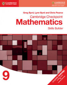 Cambridge Checkpoint Mathematics Skills Builder Workbook 9: Workbook 9 av Greg Byrd, Lynn Byrd og Chris Pearce (Heftet)