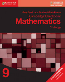 Cambridge Checkpoint Mathematics Challenge Workbook 9: Workbook 9 av Greg Byrd, Lynn Byrd og Chris Pearce (Heftet)