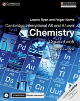 Omslag - Cambridge International AS and A Level Chemistry Coursebook with CD-ROM and Cambridge Elevate Enhanced Edition (2 Years)