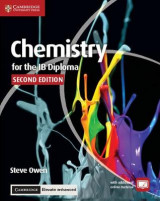 Omslag - Chemistry for the IB Diploma Coursebook with Cambridge Elevate Enhanced Edition (2 Years)