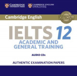 Omslag - Cambridge IELTS 12 Audio CDs (2)