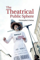 Omslag - The Theatrical Public Sphere