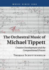 Omslag - The Orchestral Music of Michael Tippett