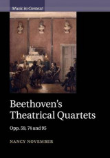 Omslag - Beethoven's Theatrical Quartets
