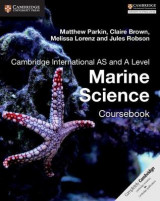 Omslag - Cambridge International AS and A Level Marine Science Coursebook